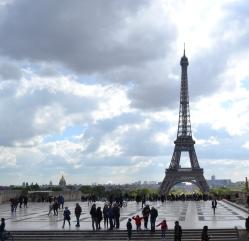 View from Trocadéro