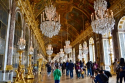 Hall of Mirrors--my favorite place in the palace.