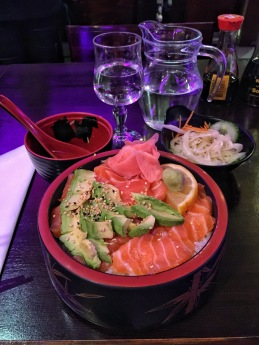 Dinner at Nikko Japanese Restaurant (right next to my hotel)