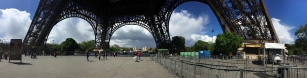 Panoramic shot taken with iPhone