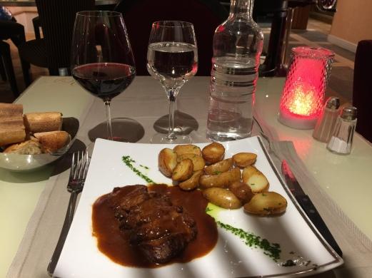 Dinner at Villa Dondelli