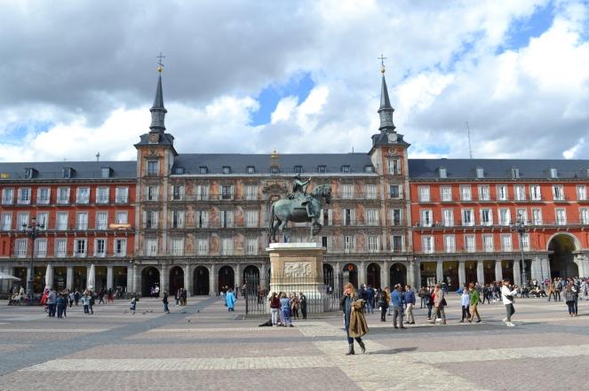Plaza Mayor, Madrid's main square.