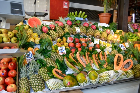 Fruit stand from heaven!